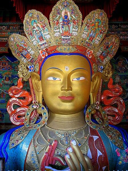 File: Maitreya Buddha the next Buddha.jpg