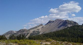 Mammoth Mountain - Image: Mammoth Mountain Ski Area in summer 1200px