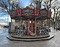 Manège pour enfants sur l'esplanade Lamartine (Mâcon).jpg