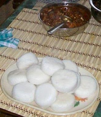 Mangalorean Catholic cuisine - Sanna–Dukra Maas