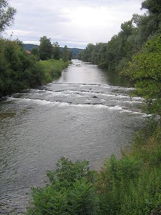 Bruckmühl - Mangfall near Bruckmühl