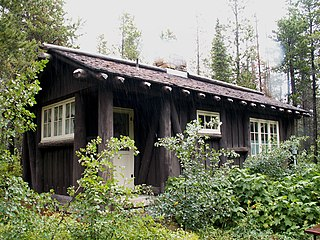 Many Glacier Campground Camptenders Cabin United States historic place