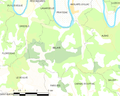Map commune FR insee code 46022.png