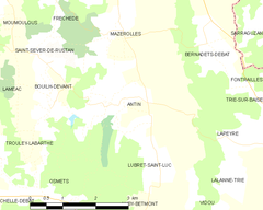 Map commune FR insee code 65015.png