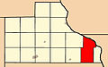 Map highlighting Iowa Township, Jackson County, Iowa.jpg