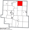 Map of Muskingum County Ohio Highlighting Adams Township.png