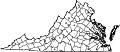 Map of Virginia highlighting Buena Vista City.svg