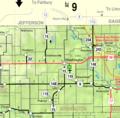 Map of Washington Co, Ks, USA.png