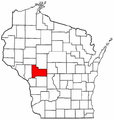 Map of Wisconsin highlighting Jackson County.png