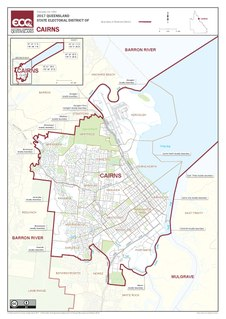 Electoral district of Cairns state electoral district of Queensland, Australia