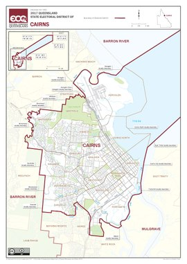 Map of the electoral district of Cairns, 2017.pdf