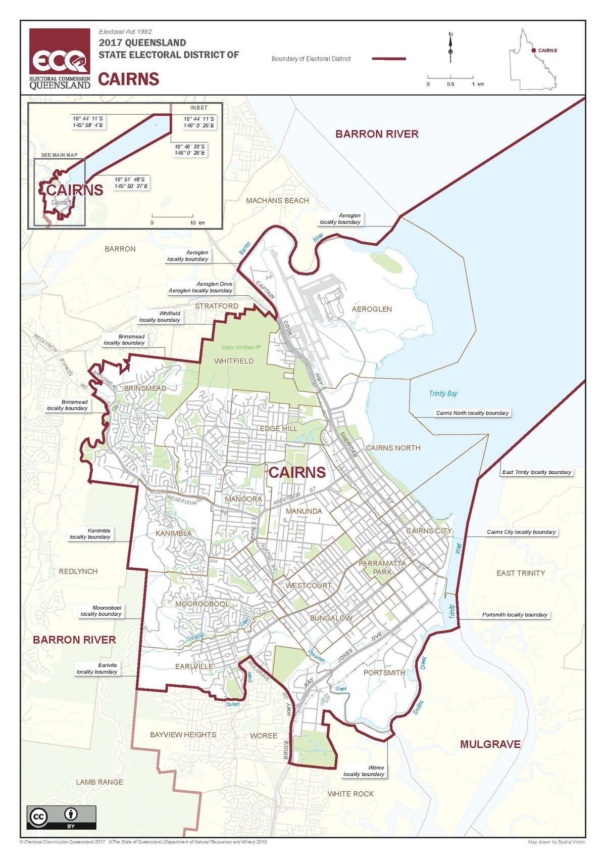 Electoral districting in the city of