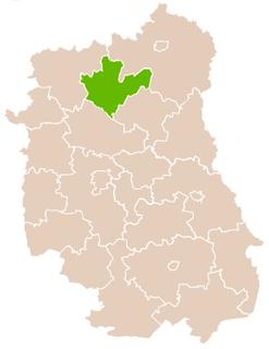 Radzyń Podlaski County County in Lublin Voivodeship, Poland