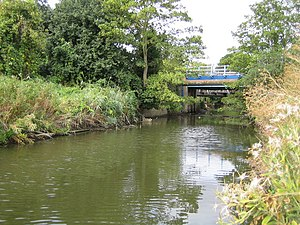 Mardyke (river) - The Mardyke near Purfleet