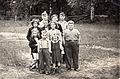 Marble Lake School Class - circa 1950 (16378155026).jpg