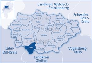 Lohra - Image: Marburg Biedenkopf Lohra
