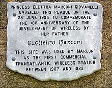 Marconi Plaque - geograph.org.uk - 1472951.jpg