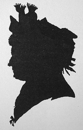 Maria Barbara Bach - Silhouette (a. 1800)