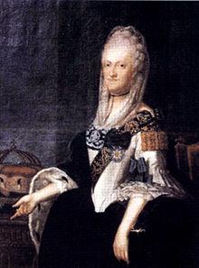 Maria Kunigunde, Fürstäbtissin von Essen und Thorn (Quelle: Wikimedia)