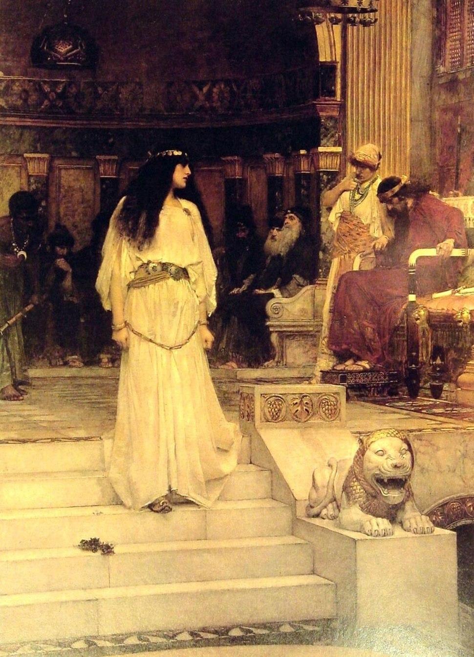 Mariamne Leaving the Judgment Seat of Herod