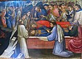 Mariotto di nardo, predella con leggenda di santo stefano, 1408. 10.JPG