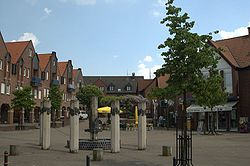 Market square in Altenberge