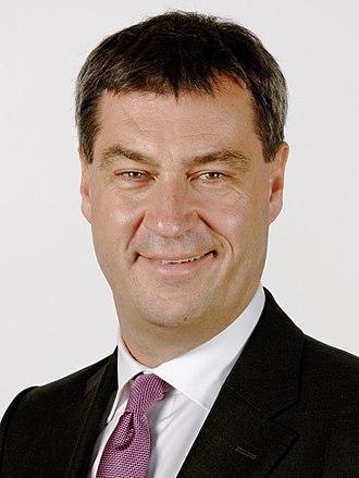 Markus Söder - Image: Markus Soeder (cropped)