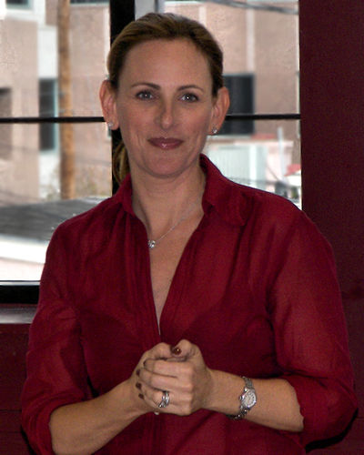 Matlin at the 2007 Texas Book Festival promoting one of her works Marlee matlan 2007.jpg