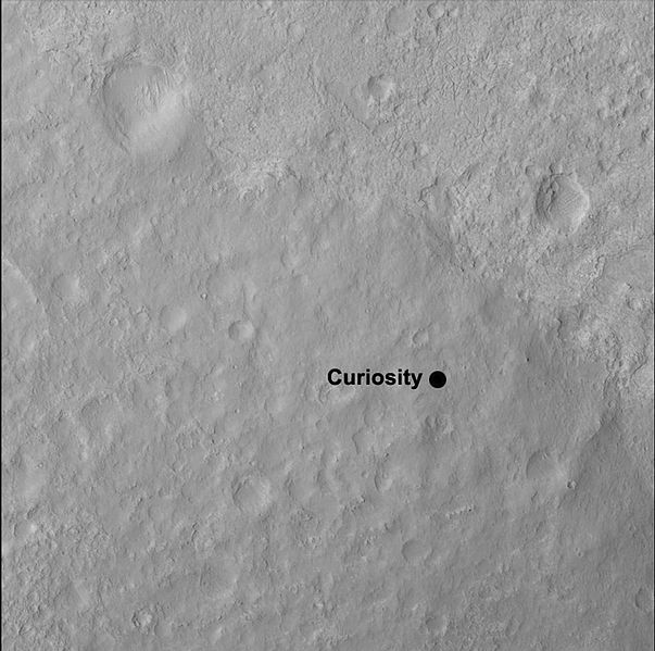 curiosity landing site - photo #24