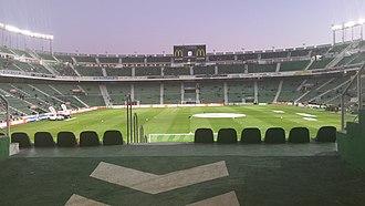 Estadio Manuel Martínez Valero - Image: Martínez Valero (interior 2015)