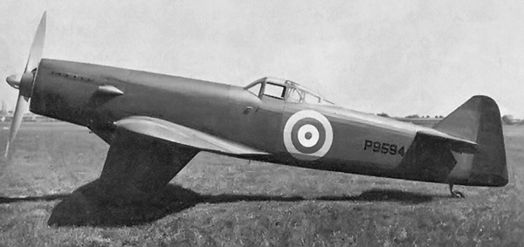 Martin-Baker MB 2 prototype during flight trials.jpg