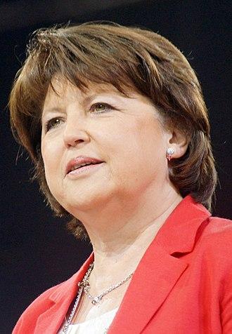 Reims Congress - Martine Aubry
