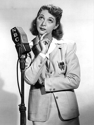 Mary Livingstone - Mary Livingstone, 1940