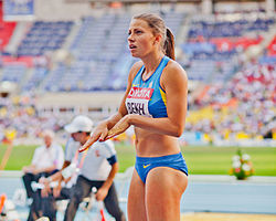 Maryna Bekh (2013 World Championships in Athletics) 02.jpg