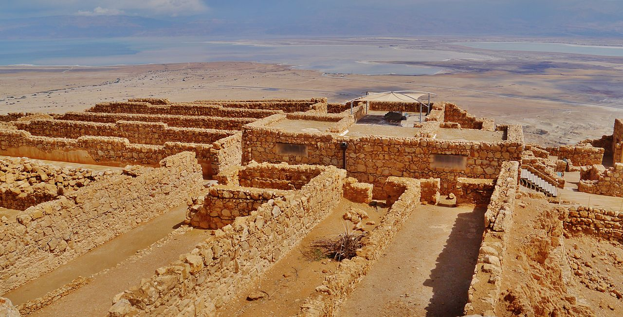 Masada Kommandantenkanzelei - vergrößerbar