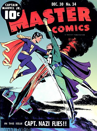 Captain Marvel Jr. - Image: Master Comics 34