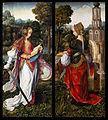 Master of Frankfurt, St Catherine, St Barbara, 1510-1520, oil on panel 158.7 x 70.8 cm (each), Mauritshuis Royal Picture Gallery, The Hague..jpg