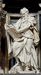 פסל שליחים-יוחנן המטביל-רומא