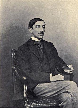Maurice Barrès - Portrait of a young Maurice Barrès.