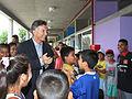 """Mauricio Macri compartió actividades de """"Vacaciones en la Escuela"""" con alumnos primarios de Villa Soldati (6755891215).jpg"""