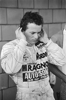Italian racecar driver