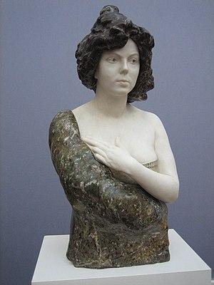 Max Klinger - Elsa Asenijeff, ca. 1900.