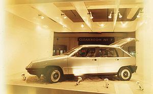 Austin Maxi - Maxi based Aquila at 1973 Motor Show