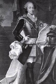 Maximilian III Joseph, Elector of Bavaria.