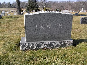 May Irwin - Image: May Irwin Tombstone 2012