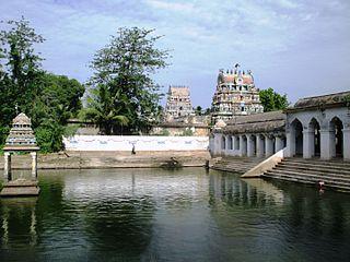 Mayiladuthurai Town in Tamil Nadu, India