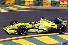 Photo de la Minardi M02 de Gaston Mazzacane