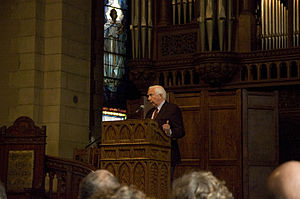David McCullough - McCullough speaking in 2008 at Vassar College