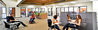 McMillen High School - One of the campus's learning centers.