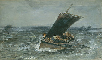 William McTaggart - Through Wind and Rain, 1875, McManus Galleries, Dundee